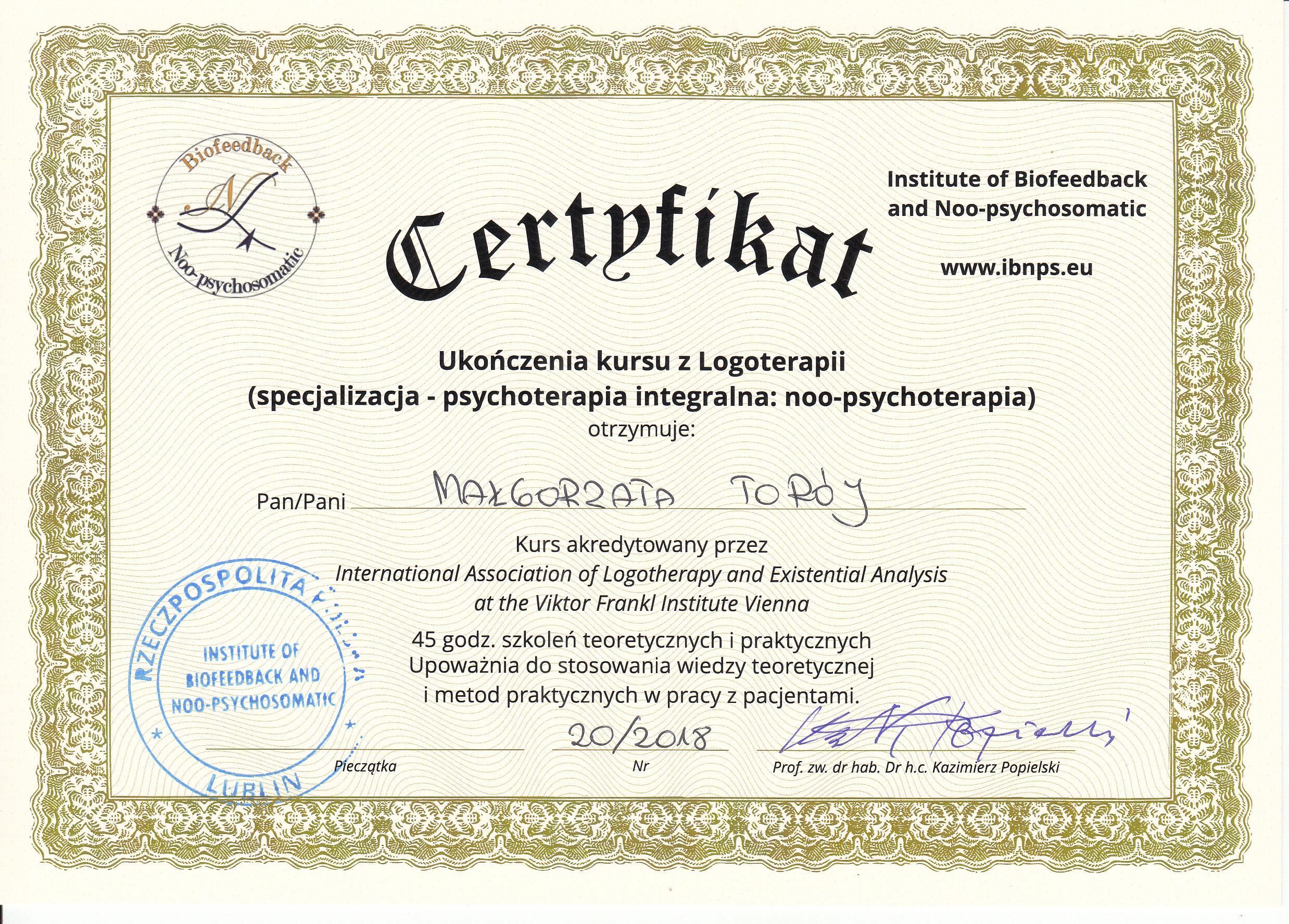 certyfikat_logoterapia